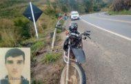 Acidente em Fervedouro mata motociclista