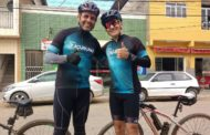 Ciclistas enfrentam desafio de 200 quilômetros
