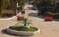 Mais uma rua recebe calçamento em Manhuaçu