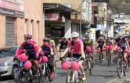 Pedal Rosa traz mobilização contra o câncer de mama em Manhuaçu