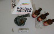 Drogas apreendidas com motorista alcoolizado em Manhumirim