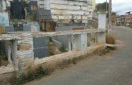 Prefeitura inicia reforma do cemitério municipal