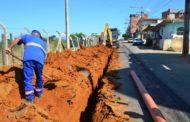 SAAE constrói nova rede de esgoto no São Francisco de Assis
