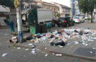 Lixo espalhado no Coqueiro dificulta trabalho do SAMAL