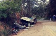 Acidente com caminhão é registrado na MG-108