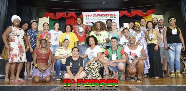 Participantes do 11° Fórum Pela Promoção da Igualdade Racial – FOPPIR