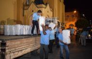 Terço dos Homens distribui cestas básicas a famílias carentes