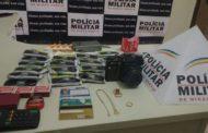 Polícia Militar apreende autores e recupera produtos de furto
