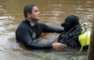 Bombeiros localizam corpo de homem que se afogou no sábado