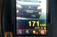 Radar da PRF flagra veículo acima da velocidade permitida
