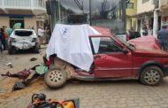 Acidente fatal em Lajinha