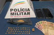 Autores presos e mais de 50 pedras de crack apreendidas no Santa Luzia