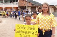 Campanha Setembro Amarelo mobiliza alunos do PETI e da Escola de Vilanova