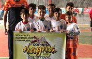 Estrelaite está na final da Copa Nayna Sub-8 de Futsal
