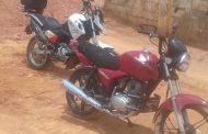 Moto recuperada no Bom Jardim