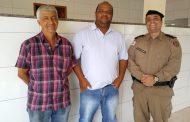 Comandante do 11º Batalhão visita São José do Mantimento