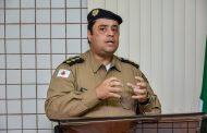 Câmara de Luisburgo recebe o comandante do 11º BPM