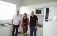 CAF inaugura nova cozinha com recursos viabilizados pela GASMIG