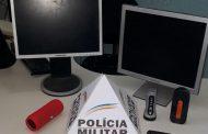Suspeito detido e material furtado recuperado em Caparaó