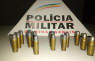 PM encontra munições em Espera Feliz