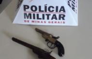 PM recolhe armas em Caiana, Matipó e Reduto