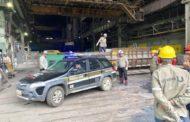 Maconha apreendida na região de Manhuaçu é incinerada na Usiminas