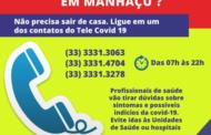 Lançado call center para facilitar atendimento à população durante quarentena