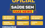 """Diga NÃO às """"Fake News"""" sobre Coronavírus"""
