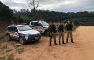PM realiza operações na zona rural