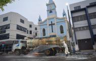 Covid19: Prefeitura de Manhuaçu intensifica ações de higienização de ruas