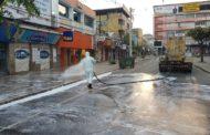 Covid-19: Prefeitura higieniza locais públicos da cidade