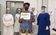 Hospital César Leite registra alta de mais dois pacientes recuperados da Covid-19