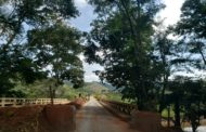 Ponte interditada na MG-111, entre Reduto e Manhumirim