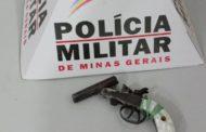 Armas recolhidas em Santana do Manhuaçu e Simonésia