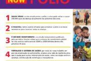 Um dia, um objetivo: erradicar a pólio