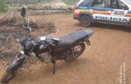 PM recupera mais uma motocicleta