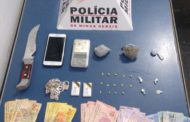 PM apreende drogas e conduz dois por tráfico no bairro São Francisco de Assis