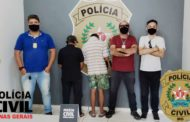 Dois autores de estupros contra criança são presos pela PC de Espera Feliz