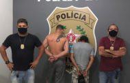 PC prende três autores de roubo em Espera Feliz