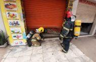 Bombeiros controlam princípio de incêndio em lanchonete na Baixada