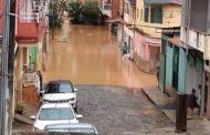Chuvas deixam região em alerta