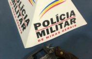 Duas armas de fogo apreendidas em Manhuaçu