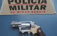 Arma de fogo recolhida no bairro Matinha