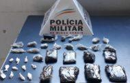 Apreensão de drogas nos bairros São Francisco de Assis e Sagrada Família