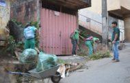 Intensificada limpeza no bairro São Vicente