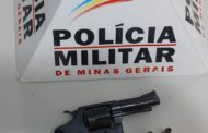 Autor preso e arma recolhida na Baixada