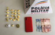 Militares conduzem envolvidos em roubo e apreendem drogas