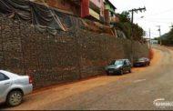 Concluída obra de muro contenção do bairro Matinha