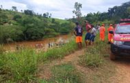 Bombeiros encontram corpo de idoso que se afogou na zona rural de Mutum