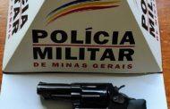 Mais uma arma de fogo retirada de circulação em Abre Campo